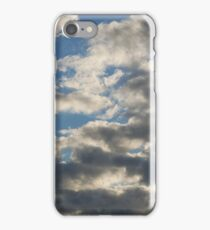 Grey Clouds on the Sky iPhone Case/Skin