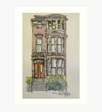 'The Inn', 943 South Van Ness Ave., San Francisco. California. ©2010 Art Print