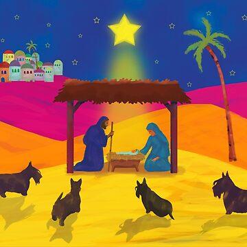 The Nativity  Copyright © BonniePortraits on Redbubble.com by BonniePortraits