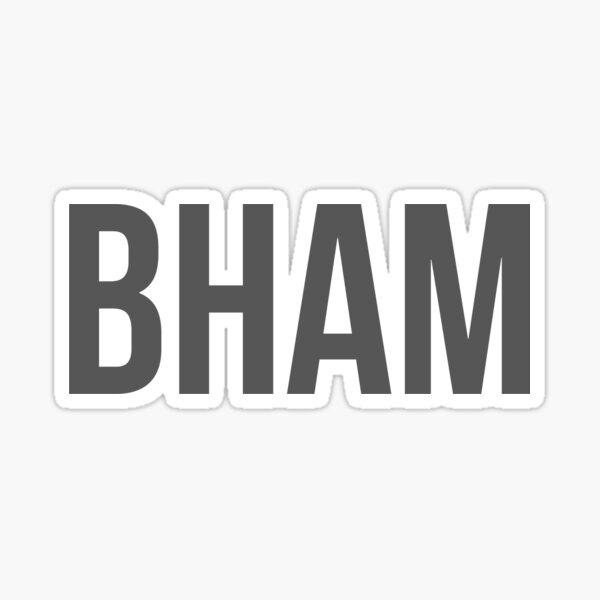 BHAM Sticker