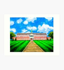 Andalusia High School - Old Main Art Print