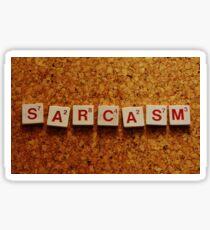 Sarcasm Sticker