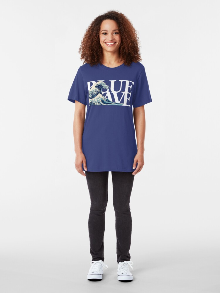 Alternate view of The Blue Wave Slim Fit T-Shirt