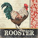 Country Rooster 1 by Debbie DeWitt