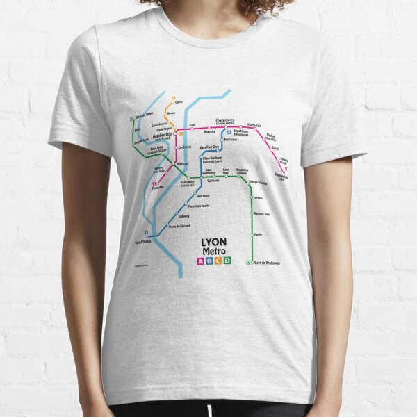 LYON Metro Network Essential T-Shirt