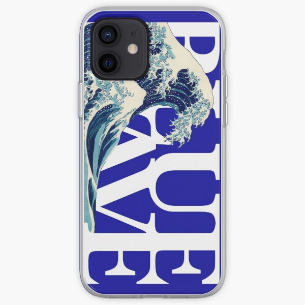 Blue Wave cell phone case iPhone Soft Case