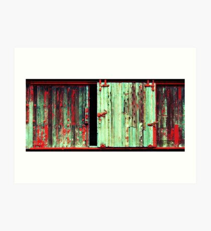 What the hell is behind that door ! Art Print