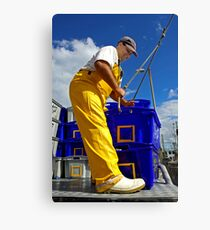 Fisherman at Bermagui Canvas Print