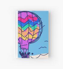 Hot air balloon Hardcover Journal