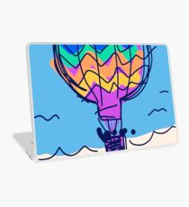 Hot air balloon Laptop Skin