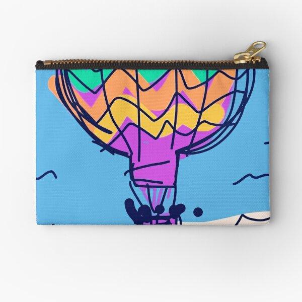 Hot air balloon Zipper Pouch