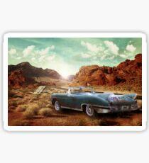 Old Cadillac Sticker