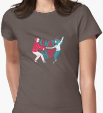 Lindy hop - Swing out  Womens Fitted T-Shirt