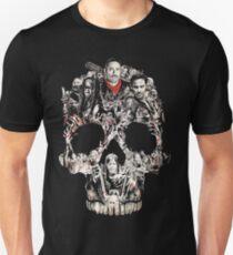 TWD Skull Cast Unisex T-Shirt
