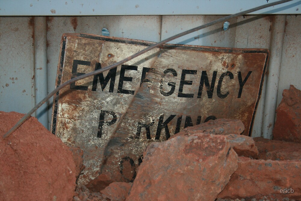 Emergency Parking Only by ericb