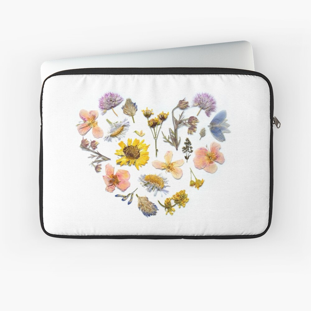 Spring Love Laptop Sleeve Front