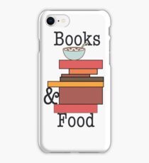 Books and Food - Cereal  iPhone Case/Skin