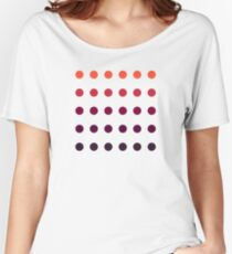 Color Scheme Pattern Women's Relaxed Fit T-Shirt