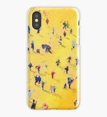 Beach Party by Neil McBride iPhone Case/Skin