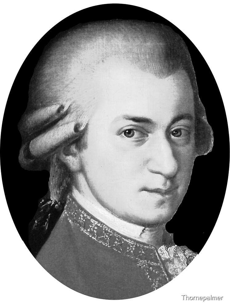 The genius Wolfgang Amadeus Mozart by Thornepalmer
