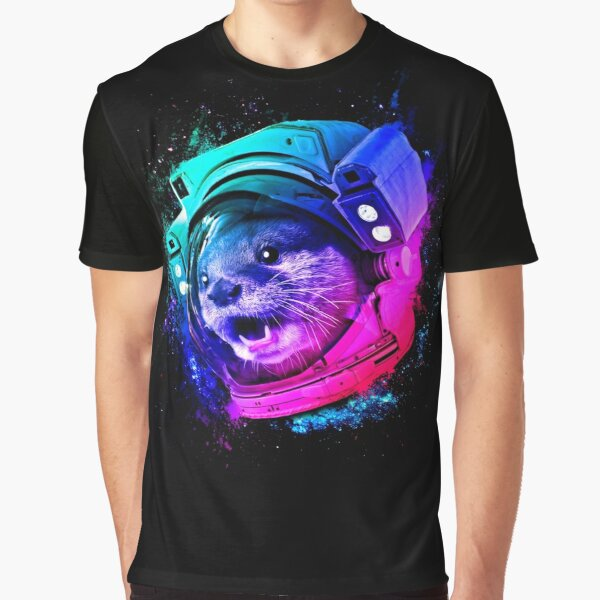 Otter Space Graphic T-Shirt