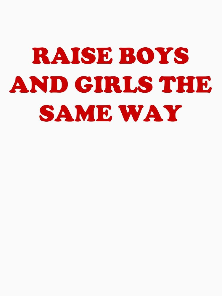 Erziehen Sie Jungen und Mädchen auf die gleiche Weise von Kirsikankukka
