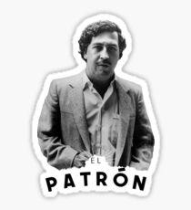 Pablo Escobar | The boss Sticker