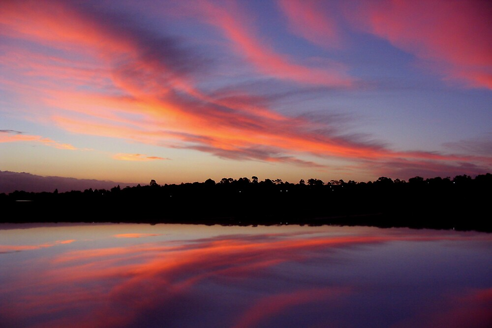 Sunset Reflection by Lindsay Knowles