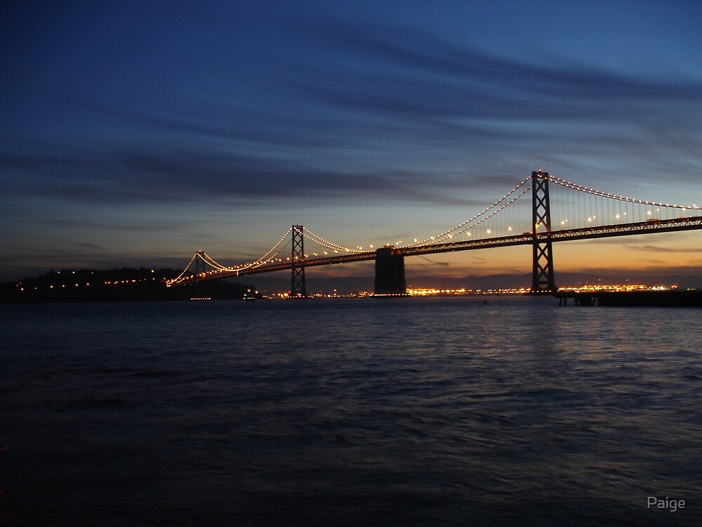 Oakland Bridge by Paige