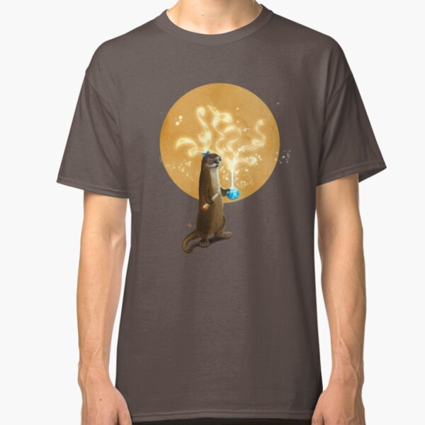 Otter Doing Science Classic T-Shirt