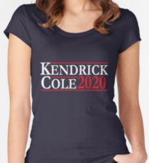 Kendrick & Cole For President Women's Fitted Scoop T-Shirt