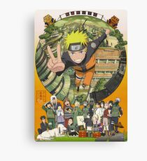 Naruto Uzumaki Hokage Canvas Print