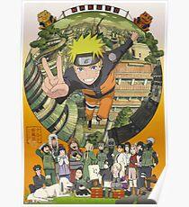 Naruto Uzumaki Hokage Poster
