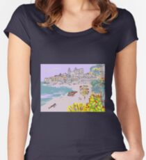 A view of Cefalu' Women's Fitted Scoop T-Shirt