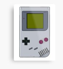 GameBoy Metal Print