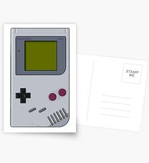 GameBoy Postcards