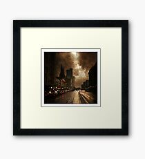 Dirty Old Town Framed Print