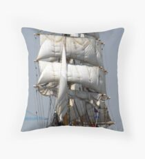 Gorch Fock Throw Pillow