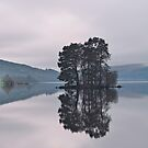 Dusk on Loch Tay by Tim Haynes