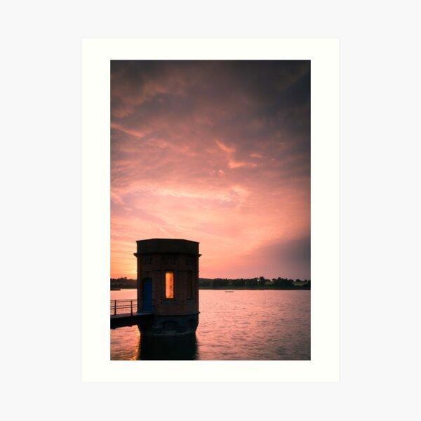 Sywell Summer Sunset Art Print