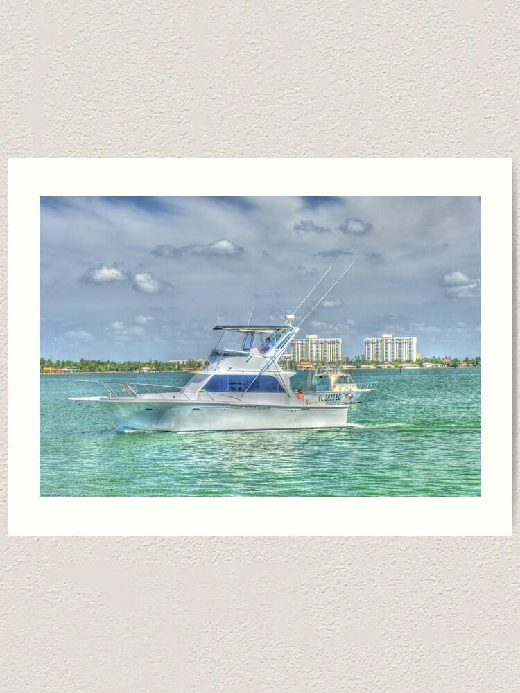 Alternate view of Smooth Sailing Art Print