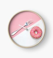 Breakfast. Clock