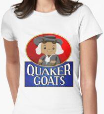 Quaker Goats!  Womens Fitted T-Shirt