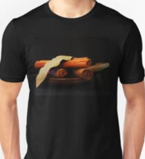 wooden spoon and cinnamon Unisex T-Shirt