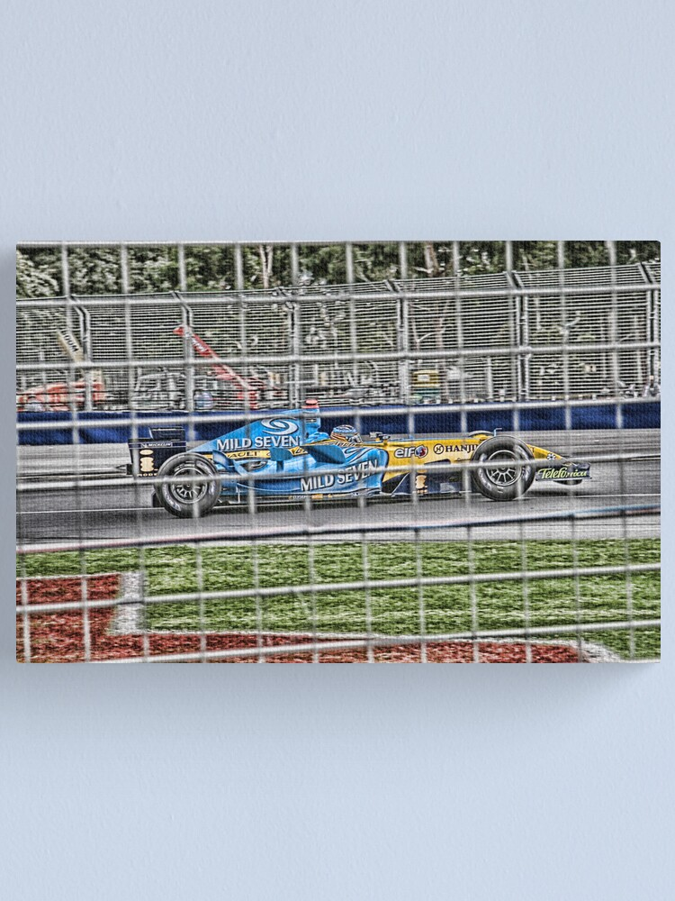 Alternate view of Formula 1 Grand Prix - Renault Canvas Print