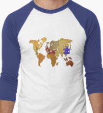 Risk!  Men's Baseball ¾ T-Shirt