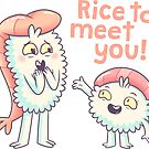 Rice to meet you! by Bobby Baxter
