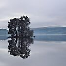 Dusk on Loch Tay (2) by Tim Haynes