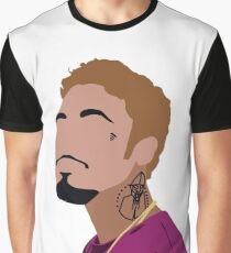 Wifisfuneral Golden-Blonde Hair Graphic T-Shirt