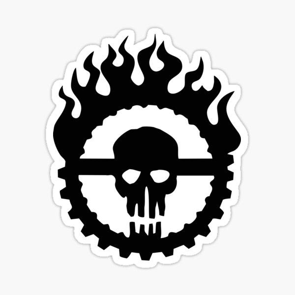 Guzzoline Robotics - Black Logo Sticker